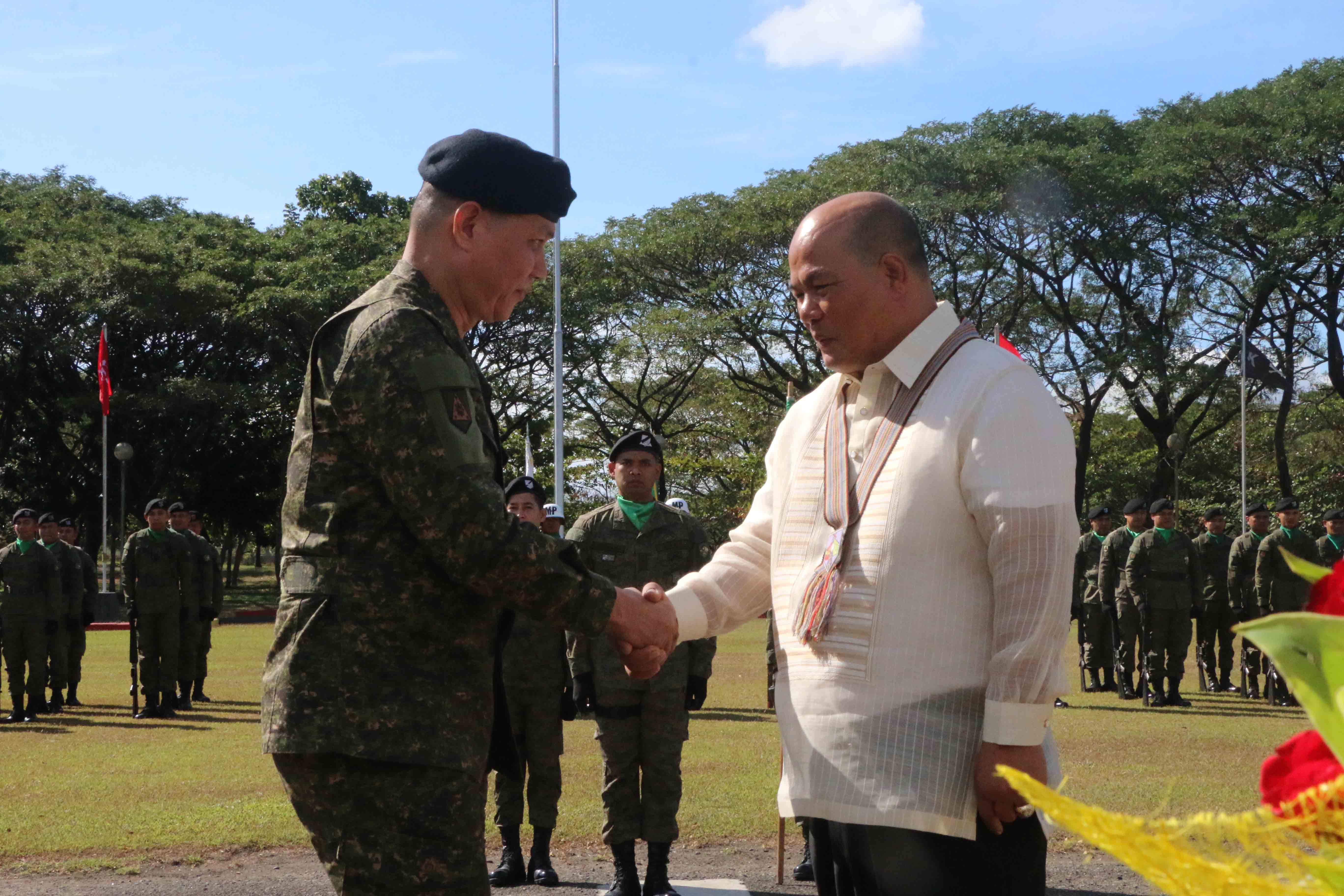 Capas Mayor Reynaldo Catacutan Visits the Home of the Mounted Warrior